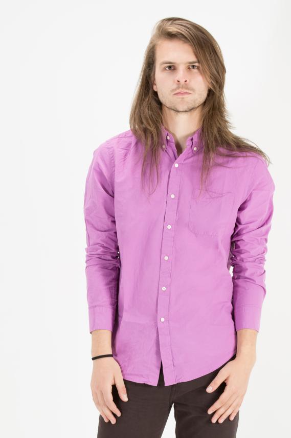 College Camisa Pronto Button Down Caspian 2 3/15