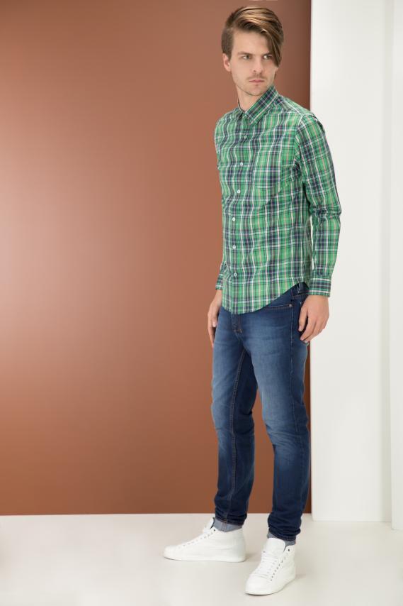 College Camisa Pronto Ward Button Down M/l 4/15
