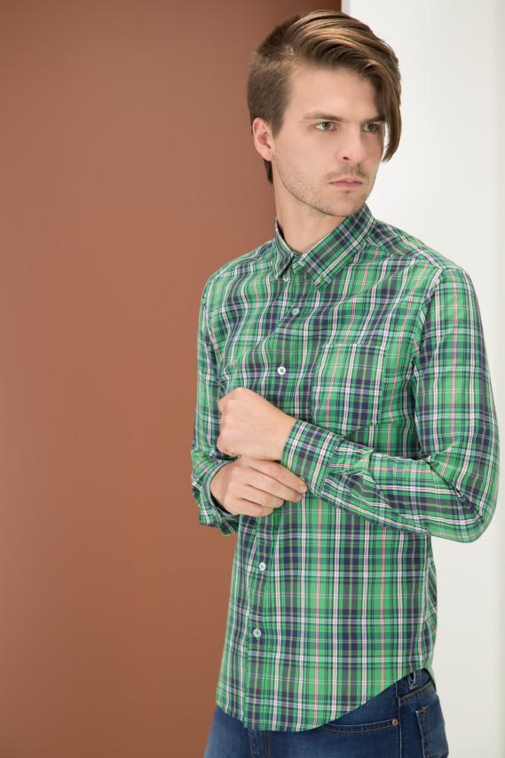 College Camisa Pronto Ward Button Down M/l 4/15
