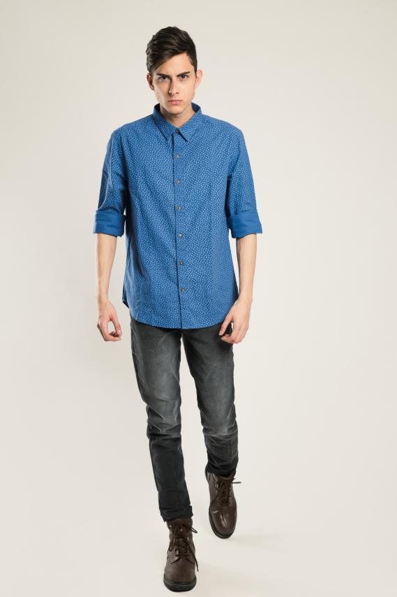 Glam Camisa Koaj Gaelt Internal Button Ml 1/1