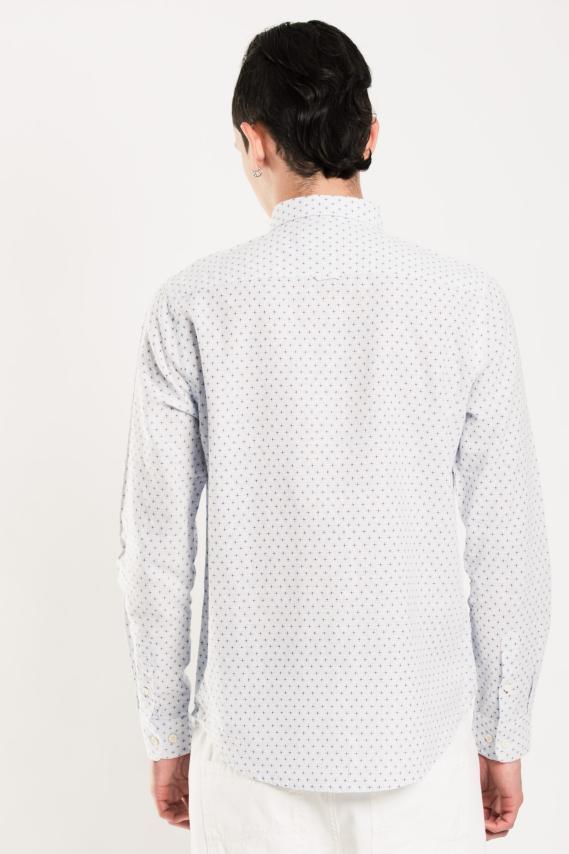 Glam Camisa Koaj France Internal Button Ml 1/