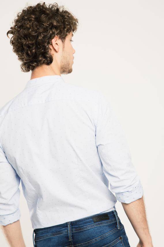 Jeanswear Camisa Koaj Rolphy Super Slim Ml 1/17