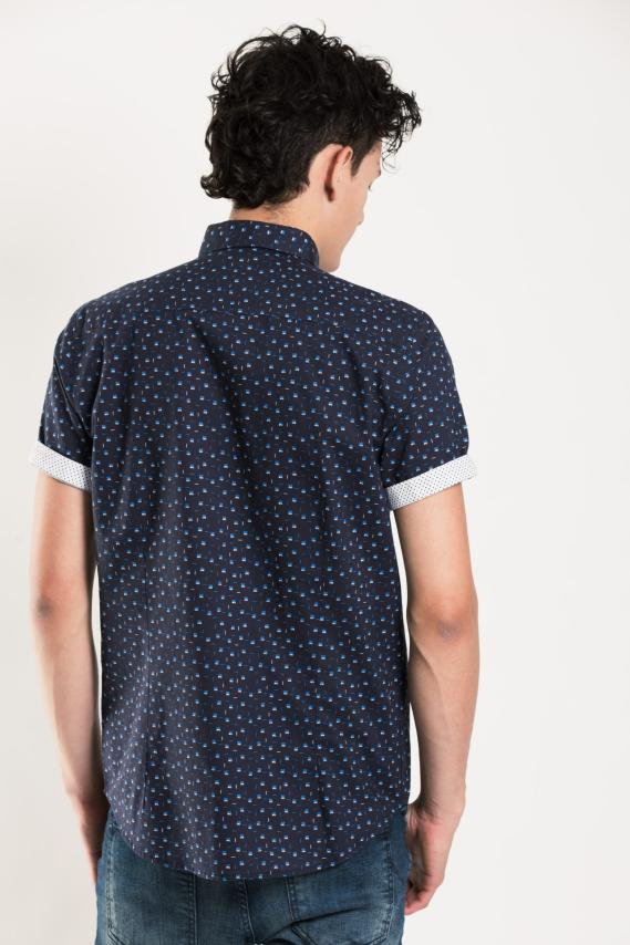 Chic Camisa Koaj Pyoni Slim M/c 1/17