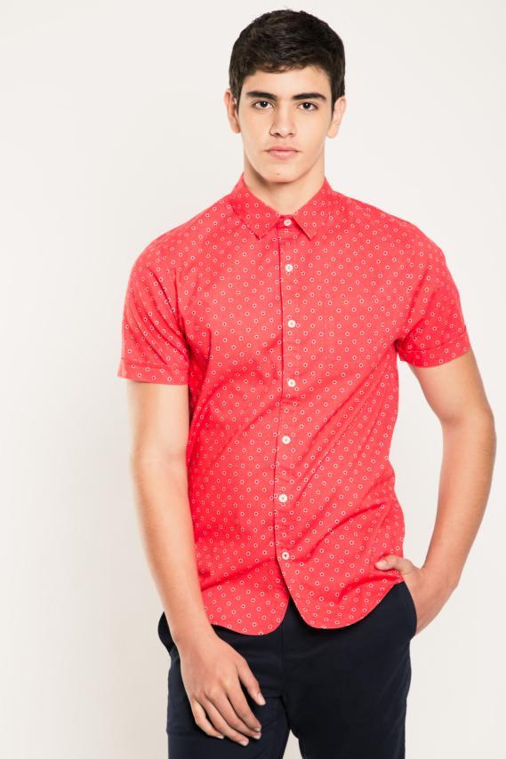 Jeanswear Camisa Koaj Paolo Sport Collar M/c 1/17