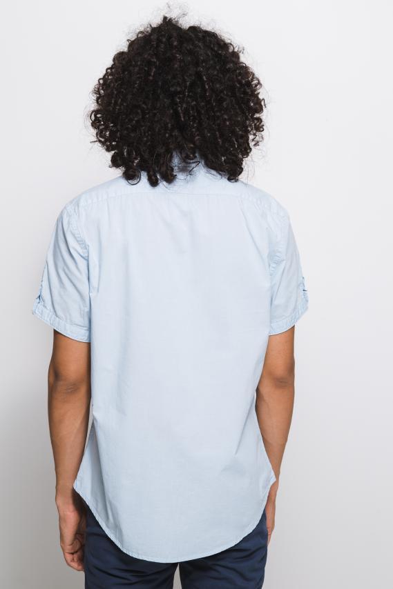 Jeanswear Camisa Koaj Melek 1 Button Down Mc 1/18