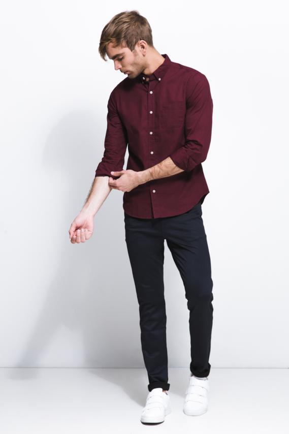 Chic Camisa Koaj Alois 2 Button Down M/l 1/18