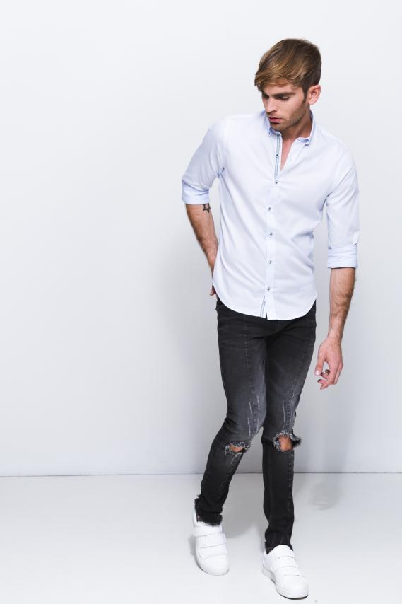 Jeanswear Camisa Koaj Dyam Button Down Ml 1/18