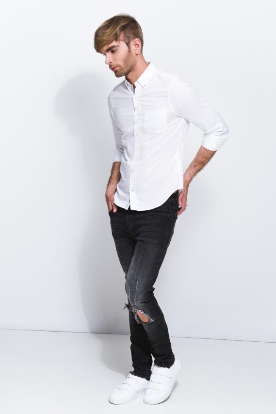 Jeanswear Camisa Koaj Kliment Button Down M/l 1/18