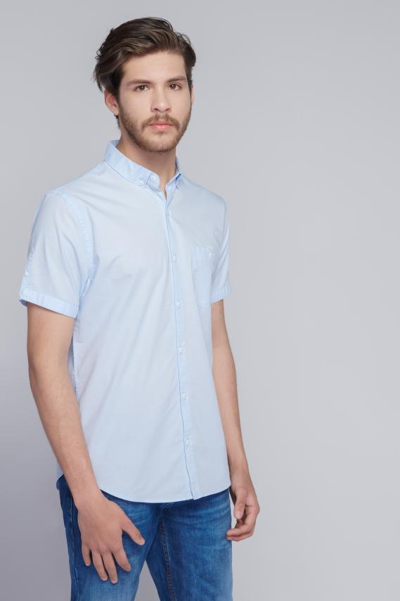 Jeanswear Camisa Koaj Basica Button Down Mc 1/18