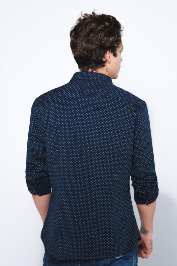 Jeanswear Camisa Koaj Grigol Super Slim Ml 1/18