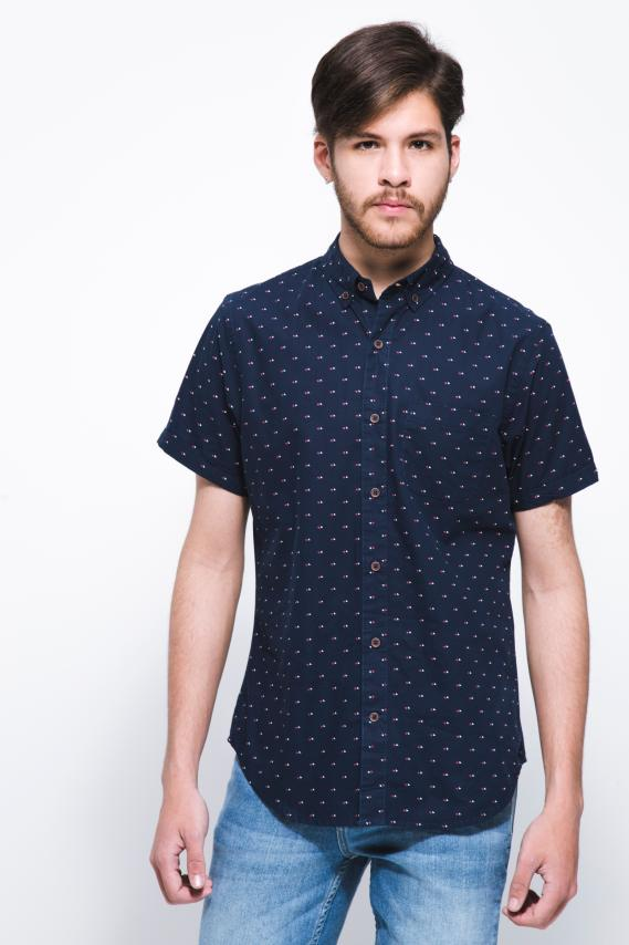 Jeanswear Camisa Koaj Alfred Button Down Mc 1/18