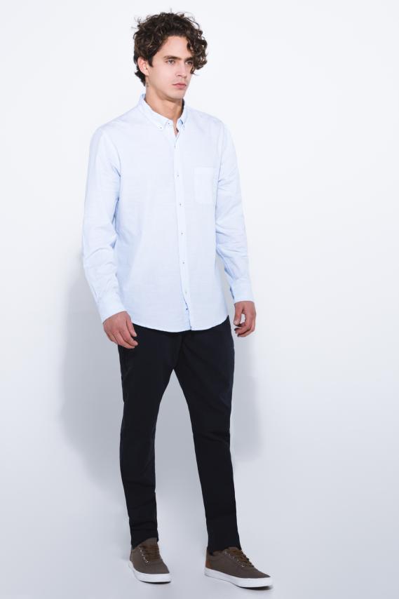 Jeanswear Camisa Koaj Iolen Button Down Ml 1/18
