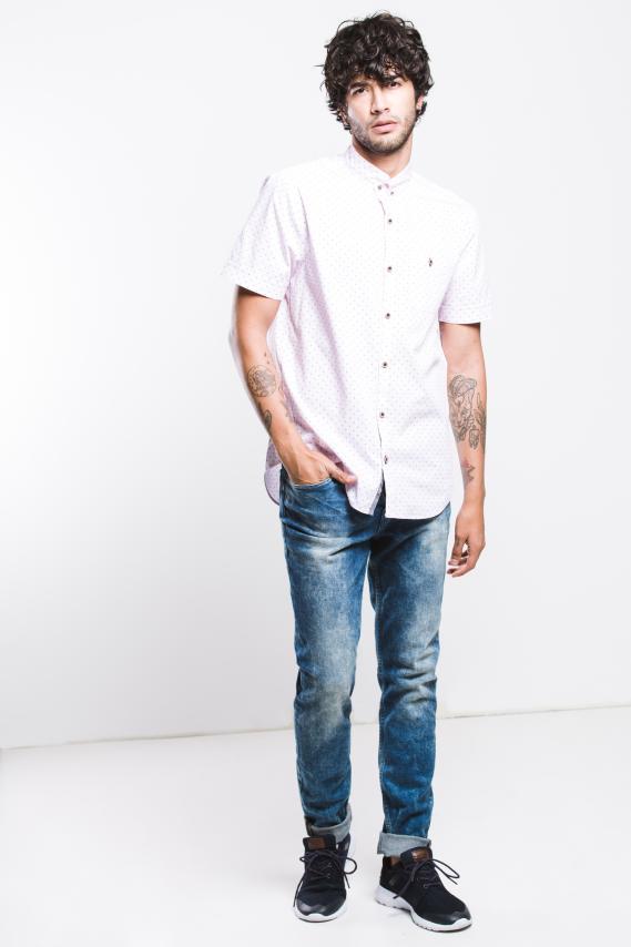 Jeanswear Camisa Koaj Giram Button Down M/c 1/18