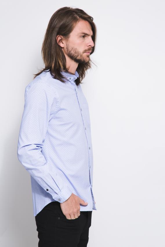 Jeanswear Camisa Koaj Miliano Button Down Ml 1/18