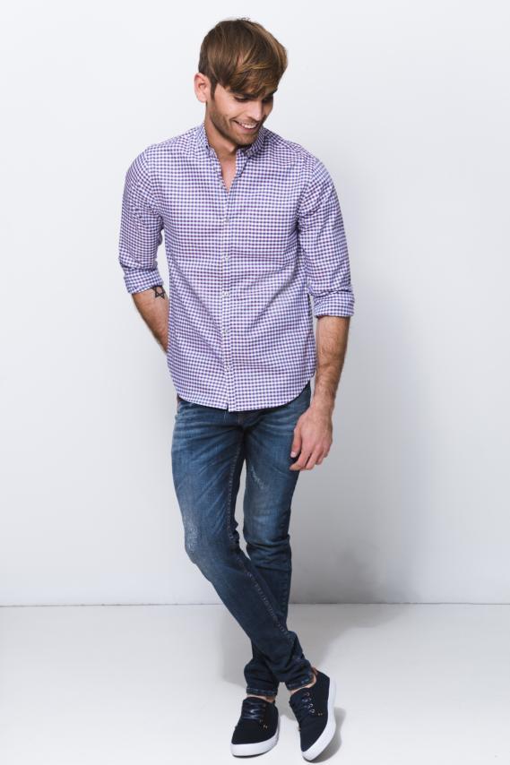 Jeanswear Camisa Koaj Hilan Button Down Ml 1/18
