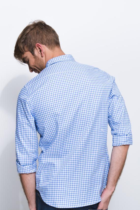 Jeanswear Camisa Koaj Hilan 1 Button Down Ml 1/18