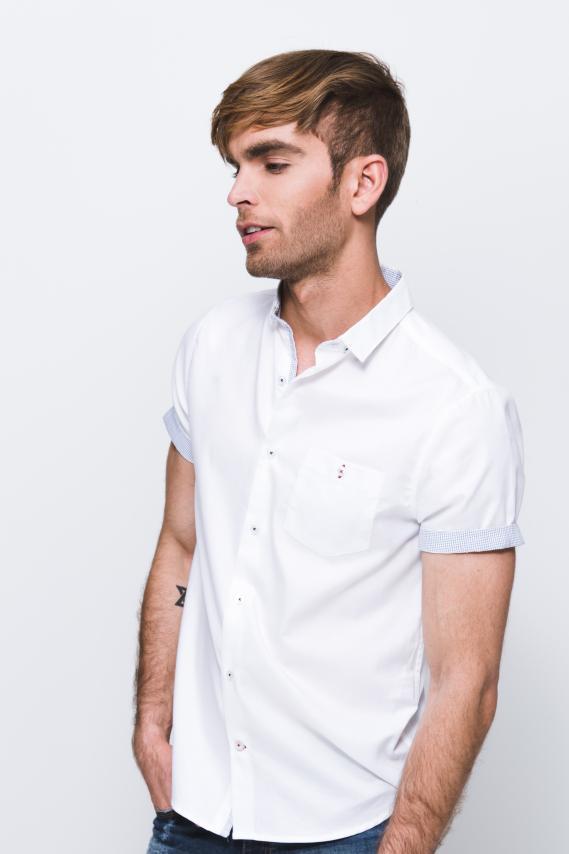 Chic Camisa Koaj Ladim C/mandarin M/c 1/18