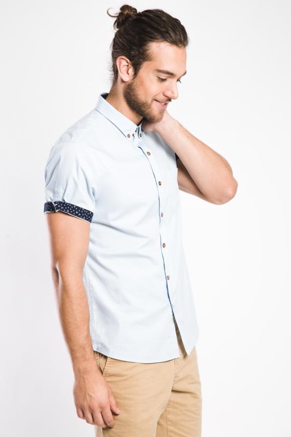 Glam Camisa Koaj Flaty Button Down M/c 2/17