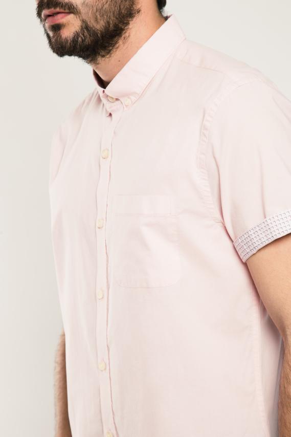 Chic Camisa Koaj Joldyn Button Down M/c 2/17