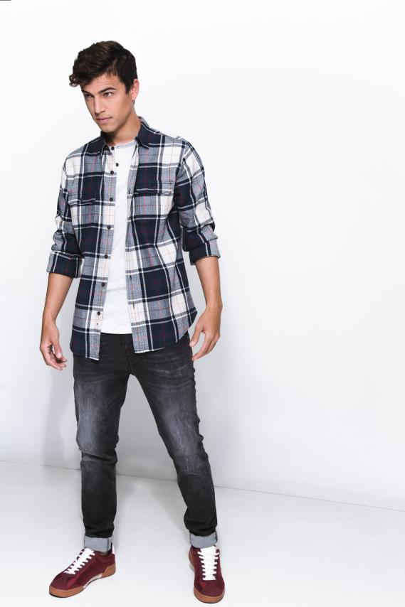 Jeanswear Camisa Koaj Eryck Slim Ml 2/18