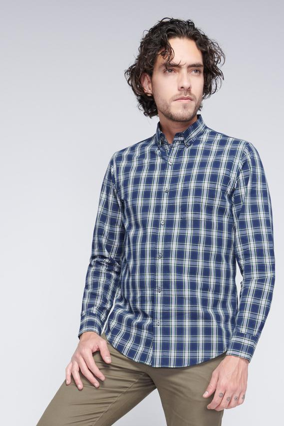 Jeanswear Camisa Koaj Babyl Button Down Ml 2/18