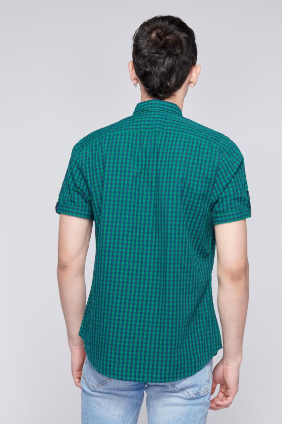 Jeanswear Camisa Koaj Leonely Button Down Mc 2/18
