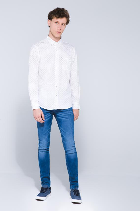 Jeanswear Camisa Koaj Luken Button Down Ml 2/18