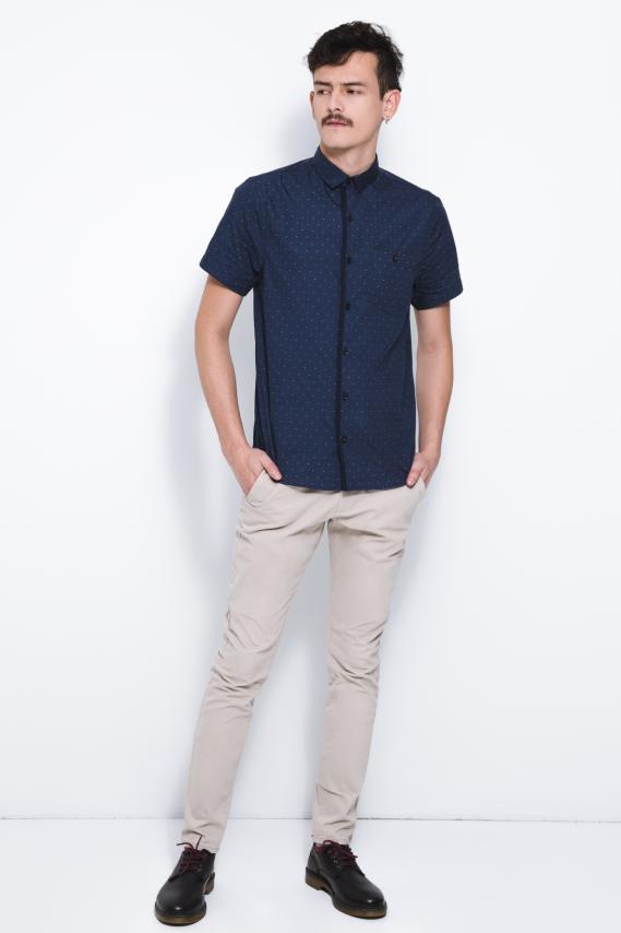 Chic Camisa Koaj Rush C/mandarin M/c 2/18