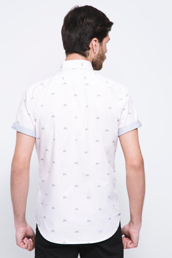 Jeanswear Camisa Koaj Korec Button Down M/c 2/18