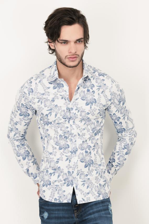 Glam Camisa Koaj Victorio Cc With Stays Ml 3/