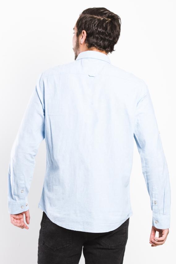 Koaj Camisa Koaj Andry Internal Button Ml 3/1