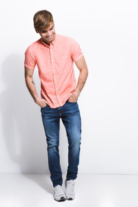 Jeanswear Camisa Koaj Melek Button Down M/c 3/17