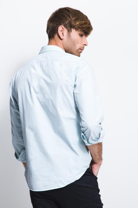 Basic Camisa Koaj Steben Button Down Ml 3/17