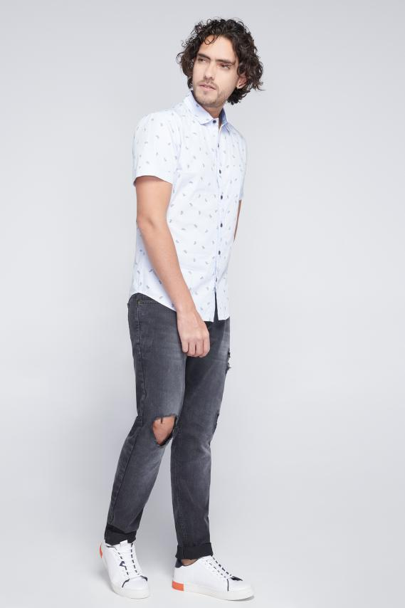 Jeanswear Camisa Koaj Delpho Sport Collar Mc 3/18
