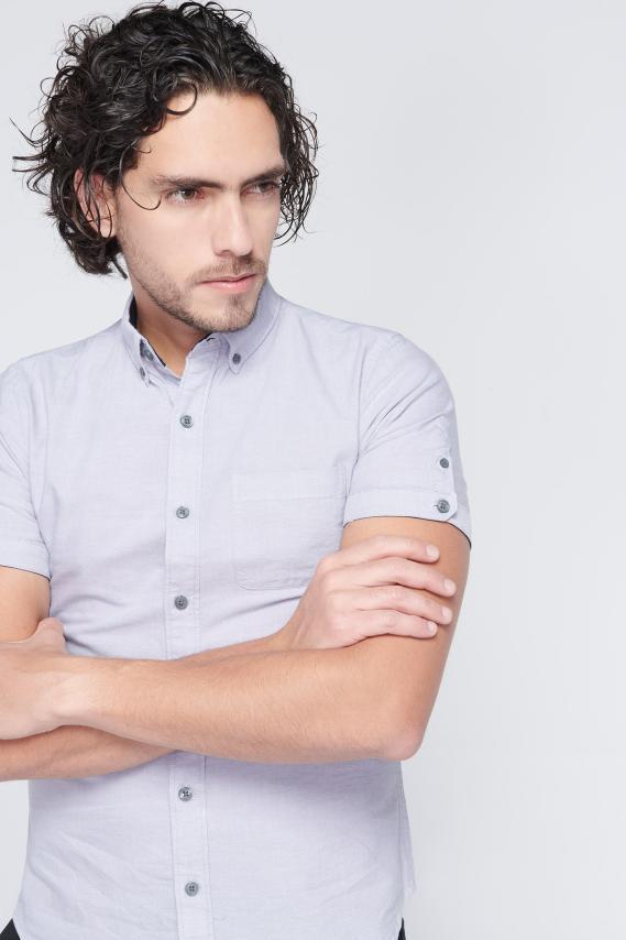 Jeanswear Camisa Koaj Wyatt Button Down Mc 3/18