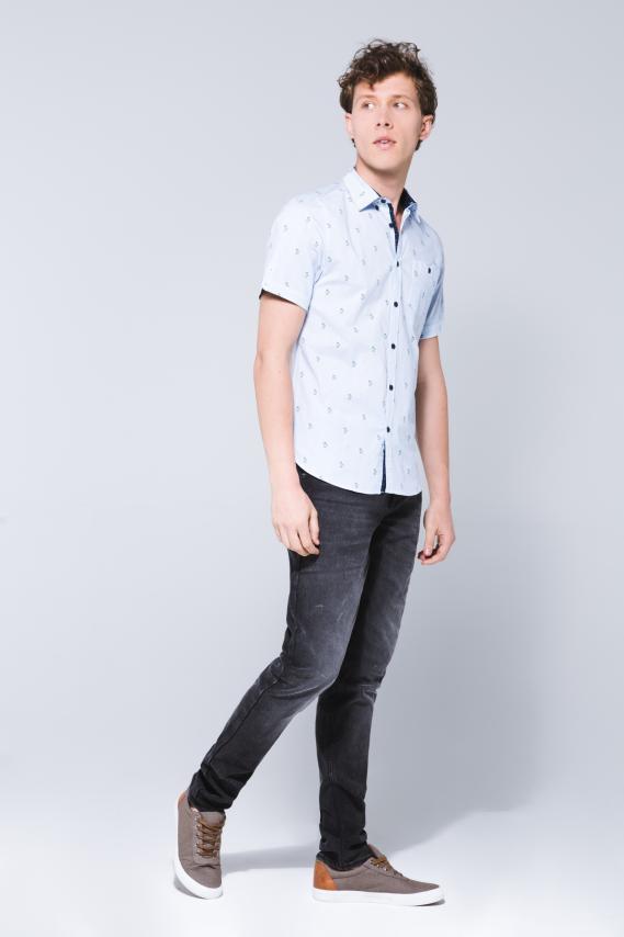 Jeanswear Camisa Koaj Evens Super Slim M/c 3/18