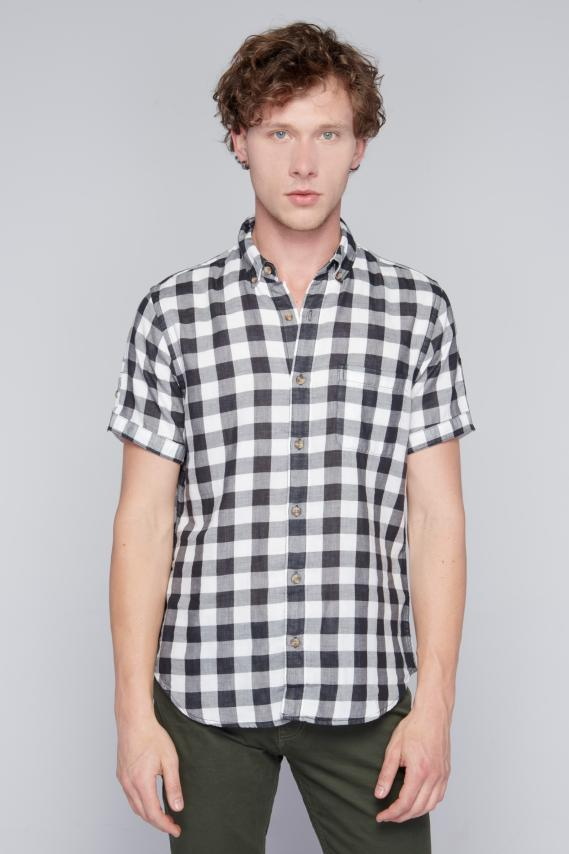 Jeanswear Camisa Koaj Frido Button Down M/c 3/18