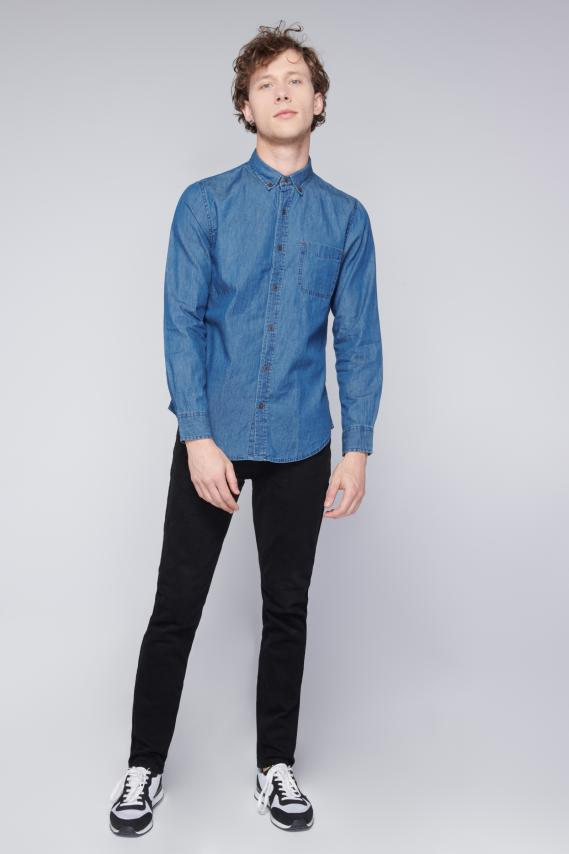 Jeanswear Camisa Koaj Jeromhe Button Down Ml 3/18