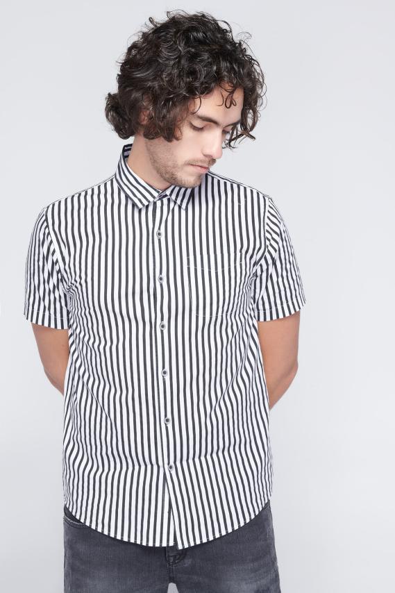 Jeanswear Camisa Koaj Akram Sport Collar M/c 3/18