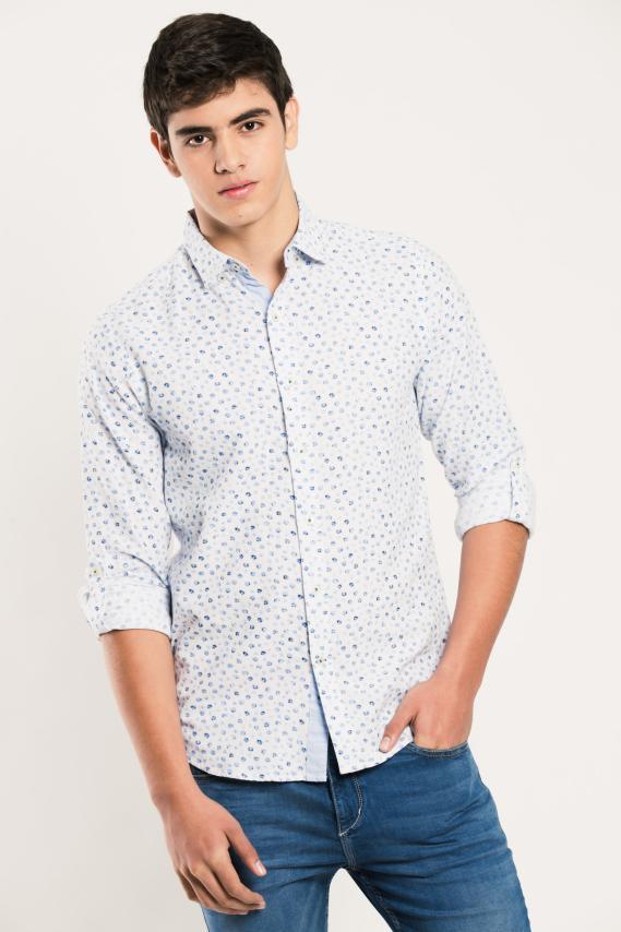 Glam Camisa Koaj Lucio Internal Button Ml 4/1