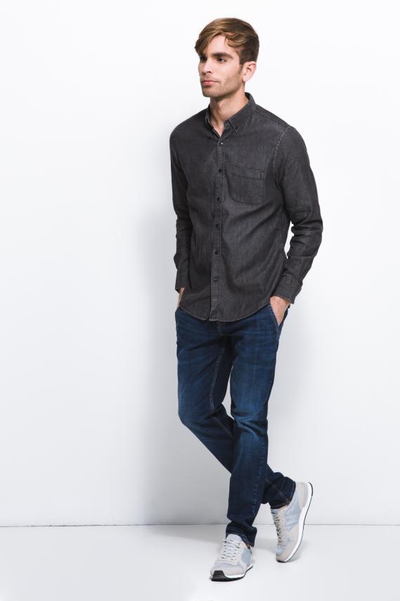 Jeanswear Camisa Koaj Poket Button Down Ml 4/17