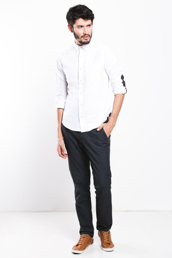 Jeanswear Camisa Koaj Zigor Button Down Ml 4/17