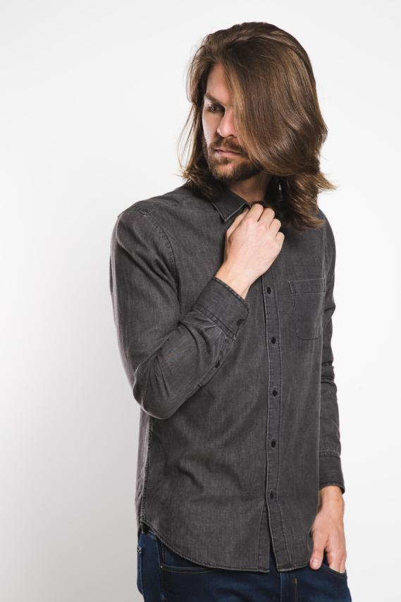 Jeanswear Camisa Koaj Rhoda Slim Mc 4/17