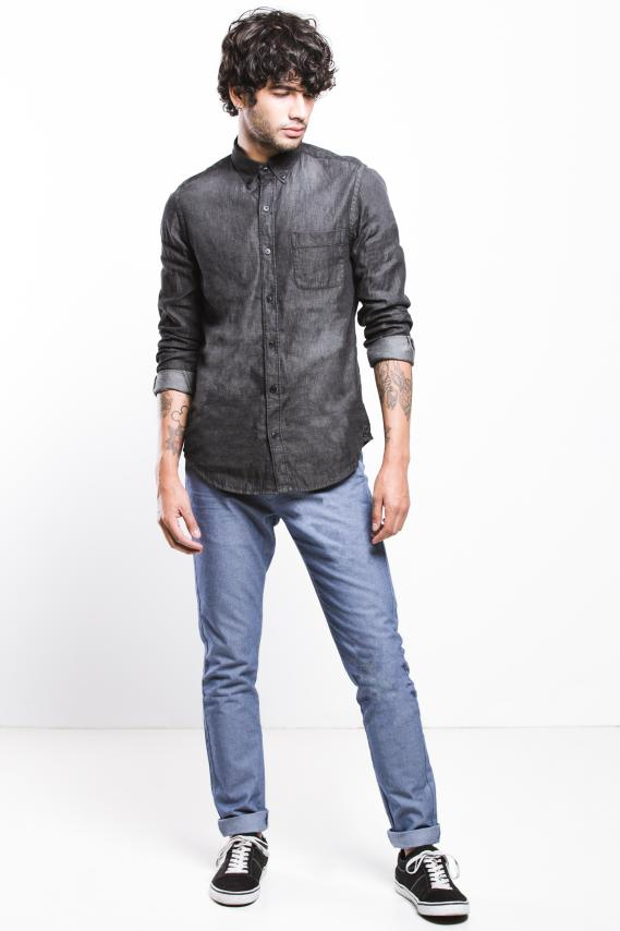 Jeanswear Camisa Koaj Roderic Button Down Ml 4/17