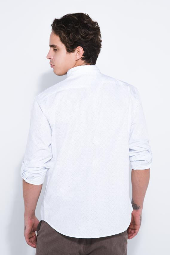 Jeanswear Camisa Koaj Tymo 1 Button Down Ml 4/17