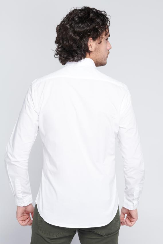 Jeanswear Camisa Koaj Basica 2a Button Down Ml 4/1