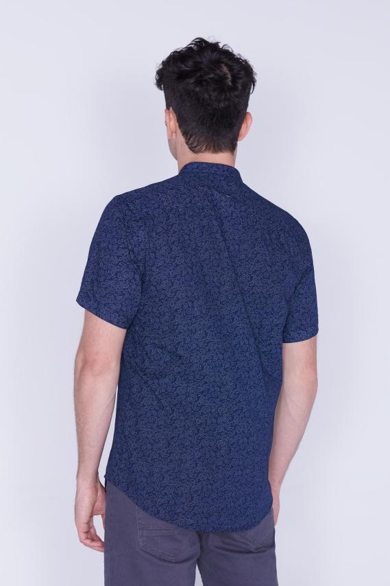 Jeanswear Camisa Koaj Harib Slim M/c 4/18