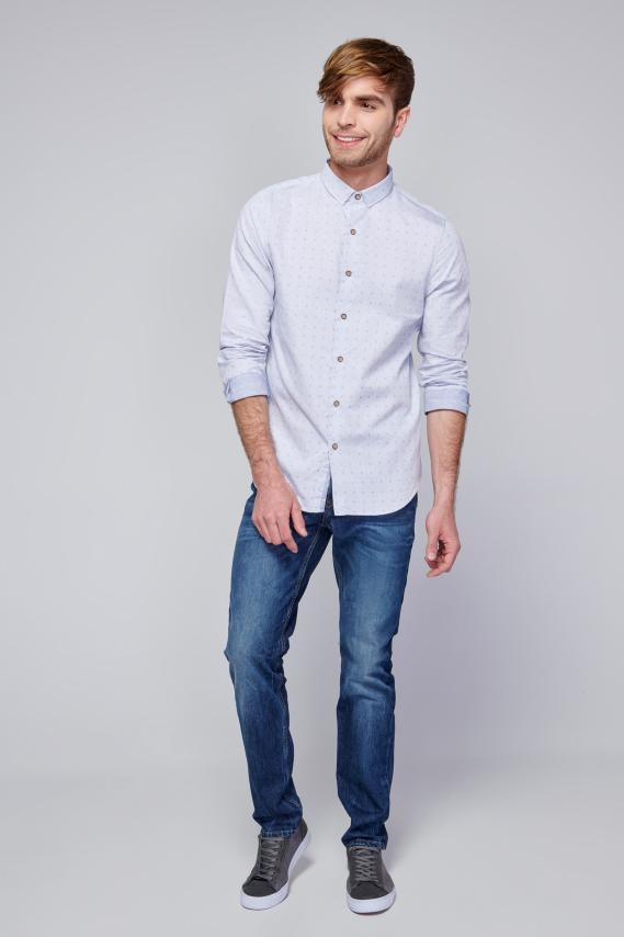 Chic Camisa Koaj Kirvy C/mandarin M/l 4/18