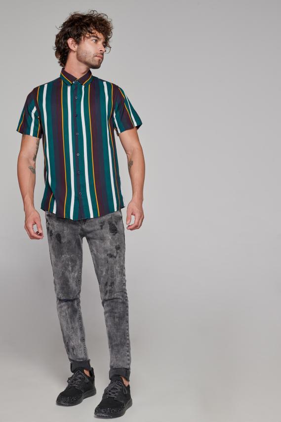 Koaj Camisa Koaj Sarpi 1 Sport Collar M/c 2/1