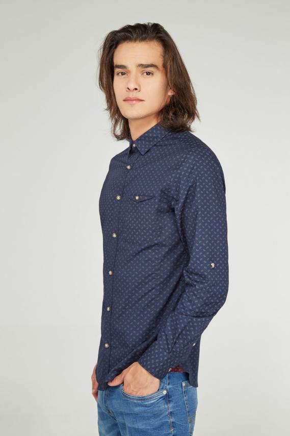 Koaj Camisa Koaj Yen Super Slim M/l 3/19